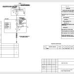 Однолинейная схема электроснабжения нежилого помещения в Санкт-Петербурге